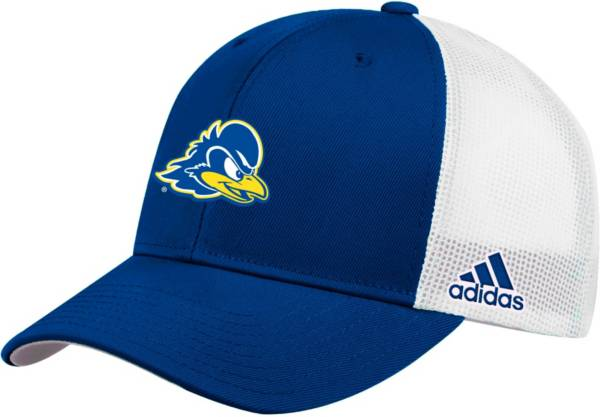 adidas Men's Delaware Fightin' Blue Hens Blue Adjustable Trucker Hat product image