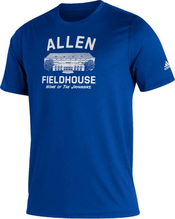 adidas Men's Kansas Jayhawks Blue Great Place Creator  T-Shirt product image