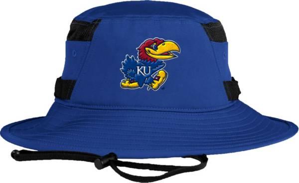 adidas Men's Kansas Jayhawks Blue Victory Performance Hat product image