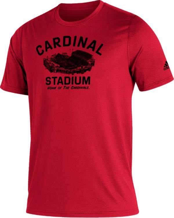 adidas Men's Louisville Cardinals Cardinal Red Great Place Creator  T-Shirt product image
