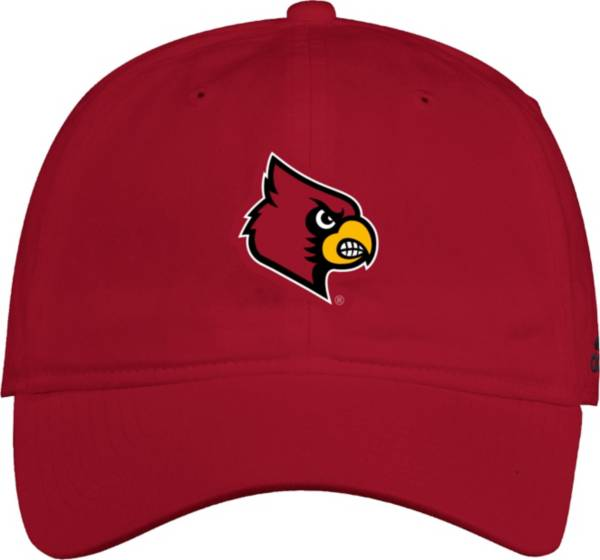 adidas Men's Louisville Cardinals Cardinal Red Slouch Adjustable Hat product image