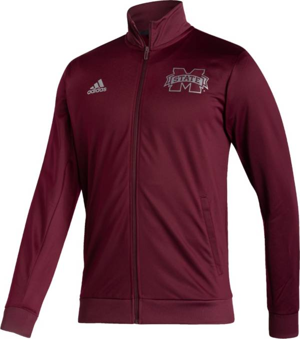adidas Men's Mississippi State Bulldogs Maroon Reverse Retro Full-Zip Jacket product image