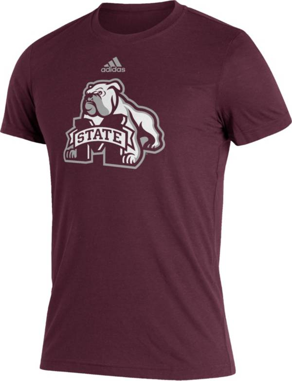 adidas Men's Mississippi State Bulldogs Maroon Reverse Retro T-Shirt product image