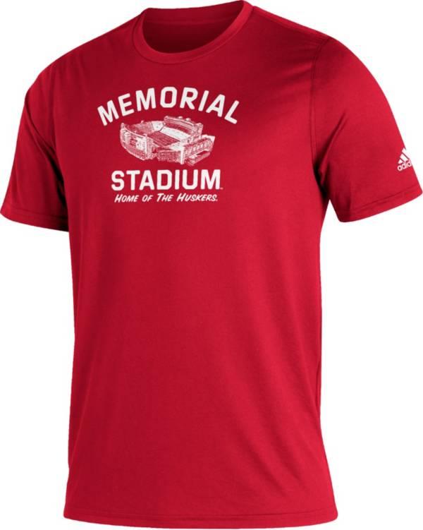 adidas Men's Nebraska Cornhuskers Scarlet Great Place Creator  T-Shirt product image
