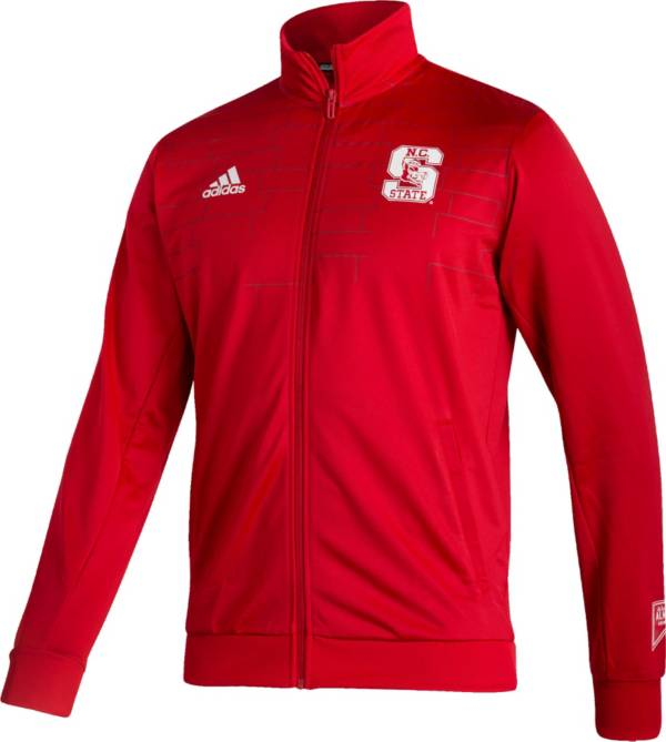 adidas Men's NC State Wolfpack Red Reverse Retro Full-Zip Jacket product image