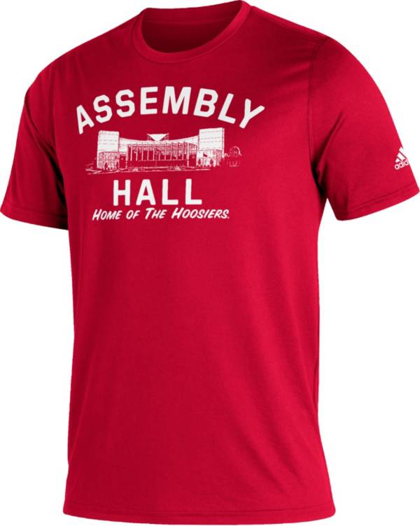 adidas Men's Indiana Hoosiers Crimson Great Place Creator  T-Shirt product image