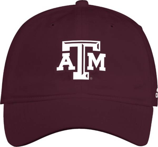 adidas Men's Texas A&M Aggies Maroon Slouch Adjustable Hat product image