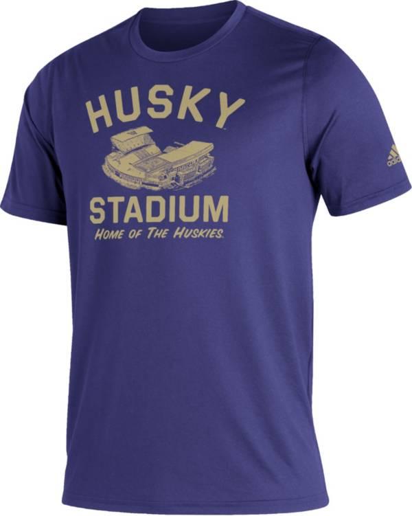 adidas Men's Washington Huskies Purple Great Place Creator  T-Shirt product image