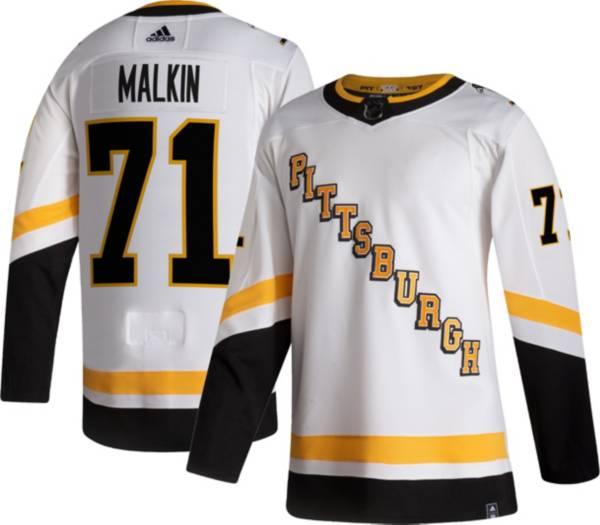 adidas Men's Pittsburgh Penguins Evgeni Malkin #71 Reverse Retro ADIZERO Authentic Jersey product image