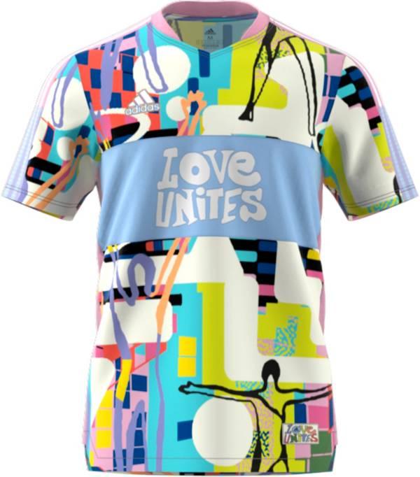 adidas Adult Love Unites Tiro Soccer Jersey   DICK'S Sporting Goods