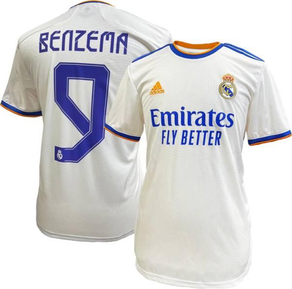 adidas Real Madrid '21 Karim Benzema Home Replica Jersey product image