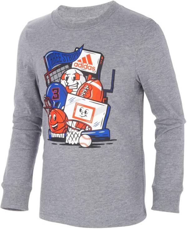 adidas Kids' Sport Dude Long Sleeve T-Shirt product image