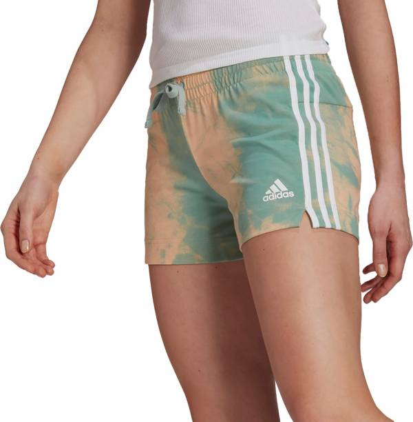 adidas Women's Tie-Dyed Effect Shorts product image
