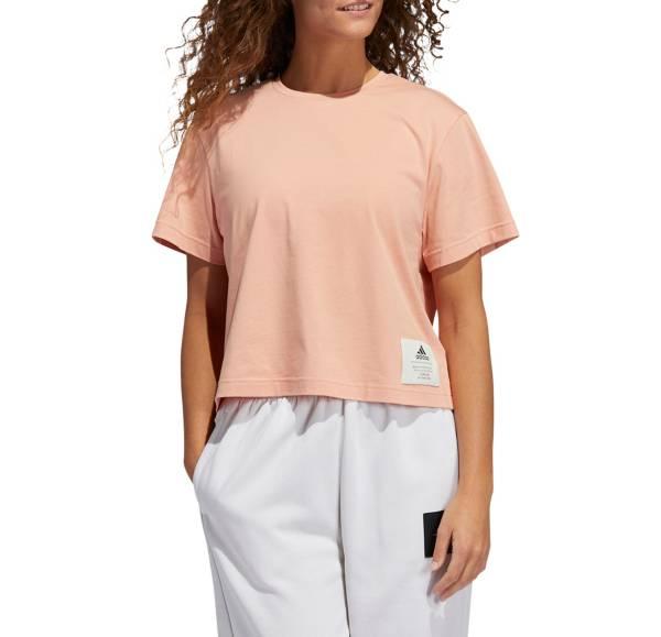adidas Women's Cotton Boyfriend Crop T-Shirt product image