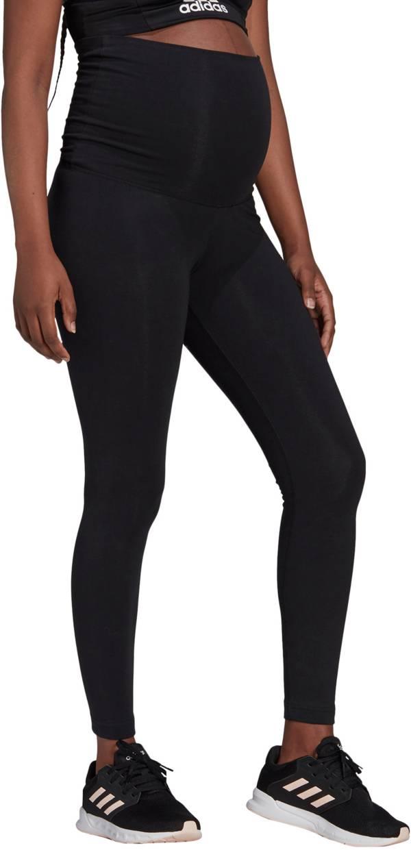 adidas Women's Badge of Sport Essentials Cotton Maternity Leggings product image