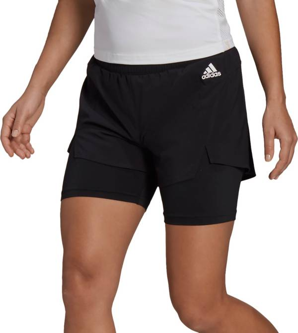 adidas Women's Primeblue Designed To Move 2-In-1 Sport Shorts product image