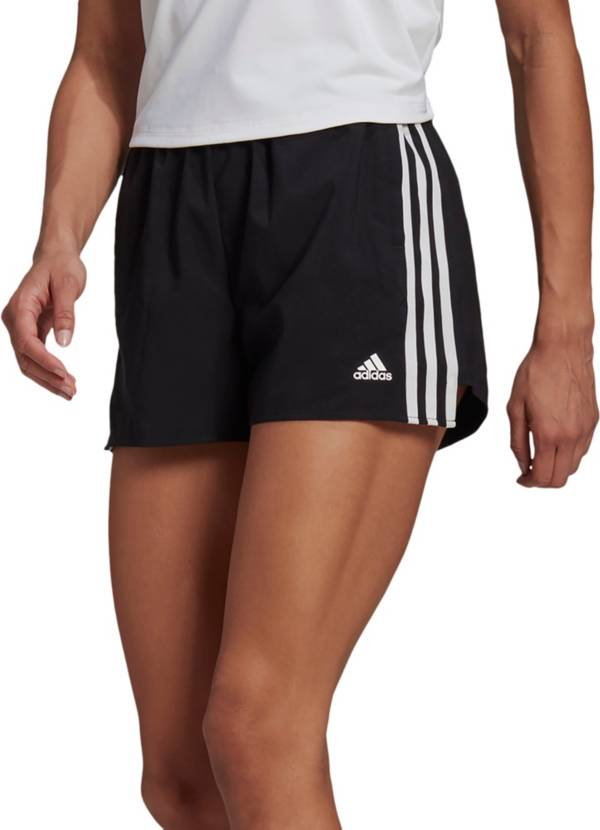 adidas Women's Primeblue Designed 2 Move Woven 3-Stripes Shorts product image