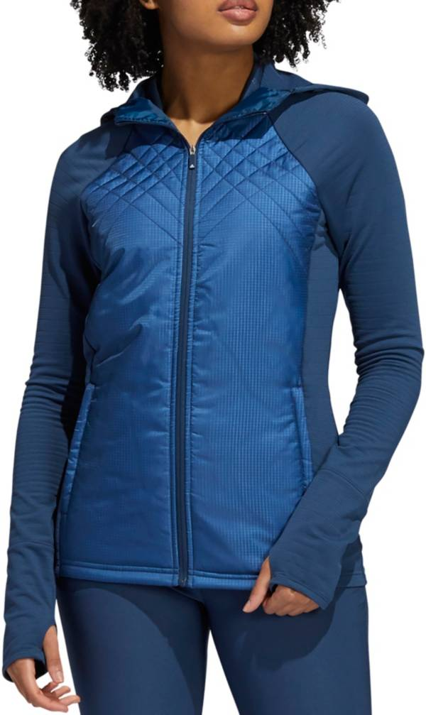 adidas Women's Quilted Full Zip Golf Jacket product image