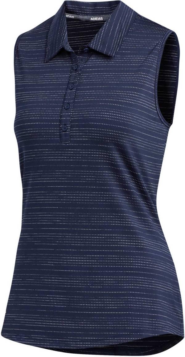 adidas Women's Microdot Sleeveless Golf Polo product image
