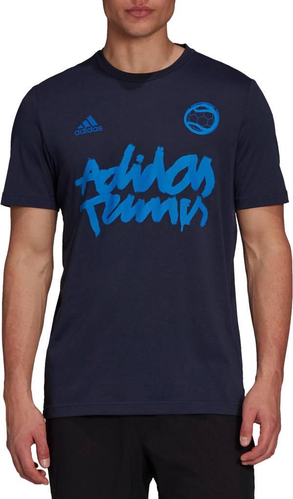 adidas Men's Tennis Wimbledon Graphic Logo T-Shirt product image