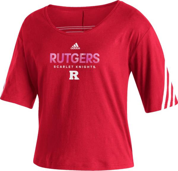 adidas Women's Rutgers Scarlet Knights Scarlet Lifestyle T-Shirt product image