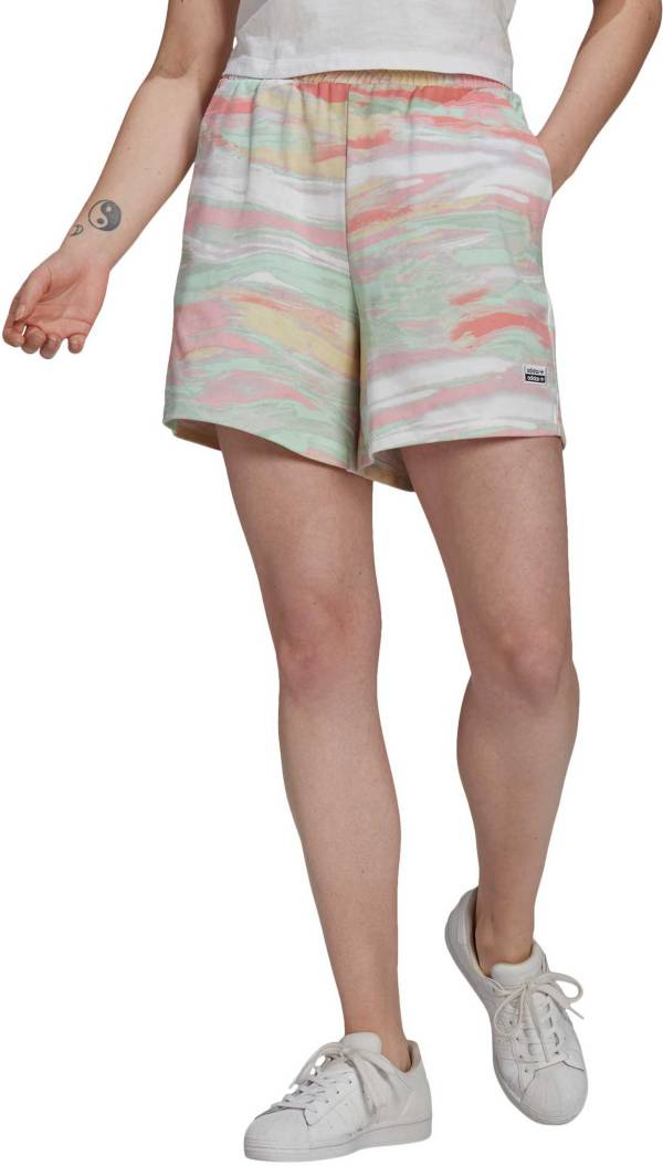 adidas Originals Women's R.Y.V. Tie Dye Shorts product image