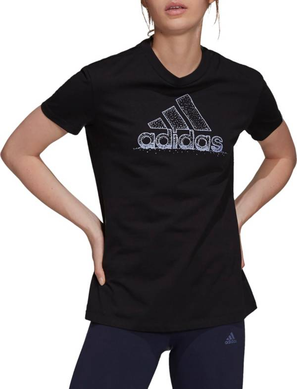 adidas Women's Snowflake Pearlescent Graphic T-Shirt product image