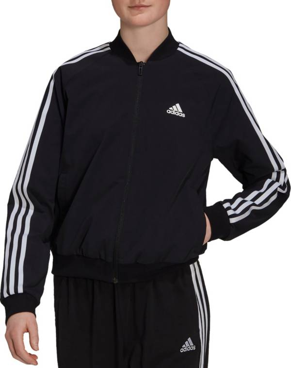 adidas Women's Essentials 3-Stripes Woven Track Jacket product image
