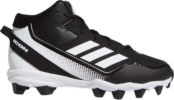 adidas Kids' Icon 7 Mid MD Baseball Cleats product image