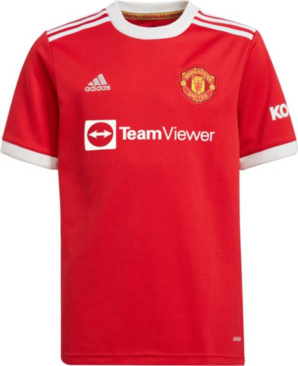 adidas Youth Manchester United '21 Home Replica Jersey product image