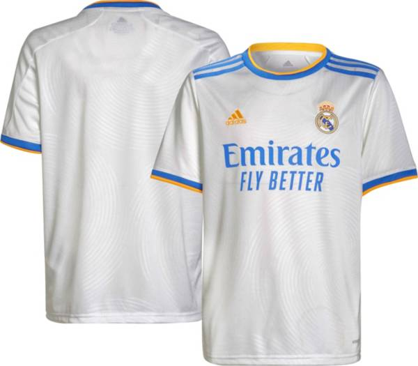 adidas Youth Real Madrid '21 Home Replica Jersey product image