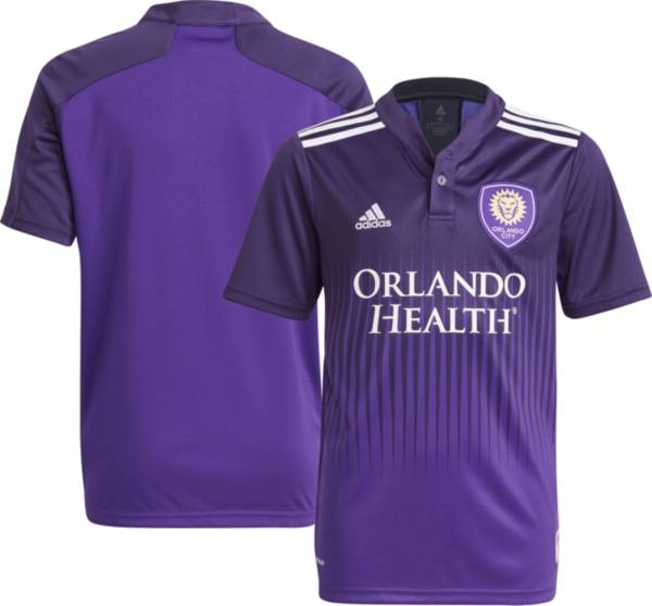 adidas Youth Orlando City '21-'22 Primary Replica Jersey product image