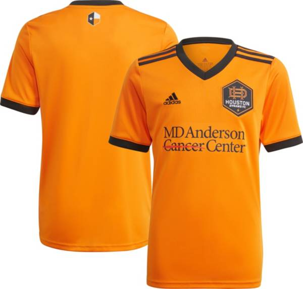 adidas Youth Houston Dynamo '21-'22 Primary Replica Jersey product image