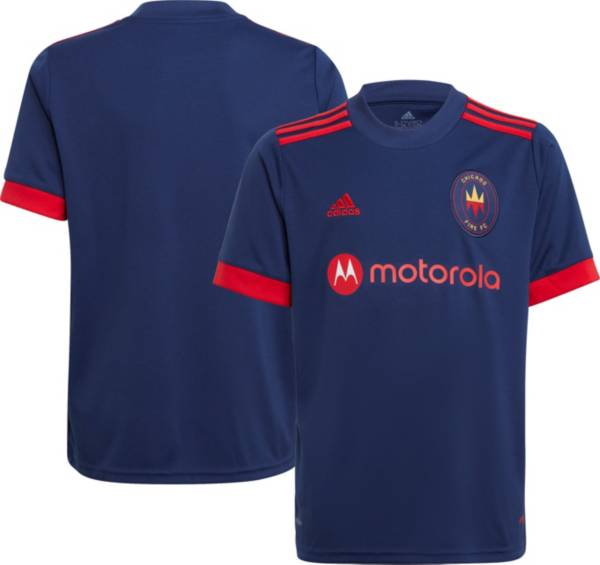 adidas Youth Chicago Fire '21-'22 Primary Replica Jersey product image