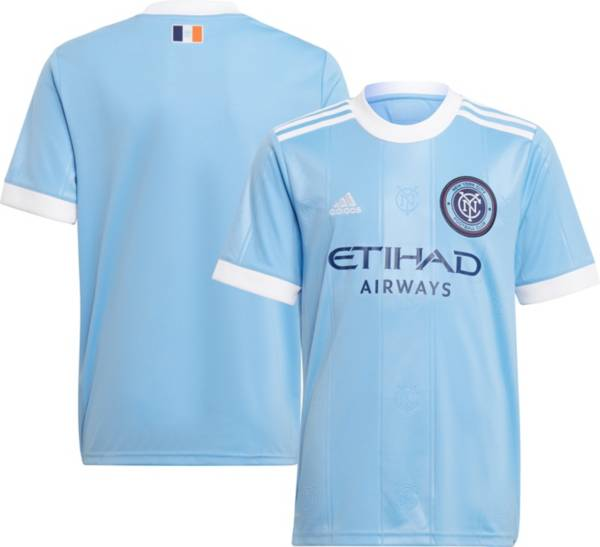 adidas Youth New York City FC '21-'22 Primary Replica Jersey product image