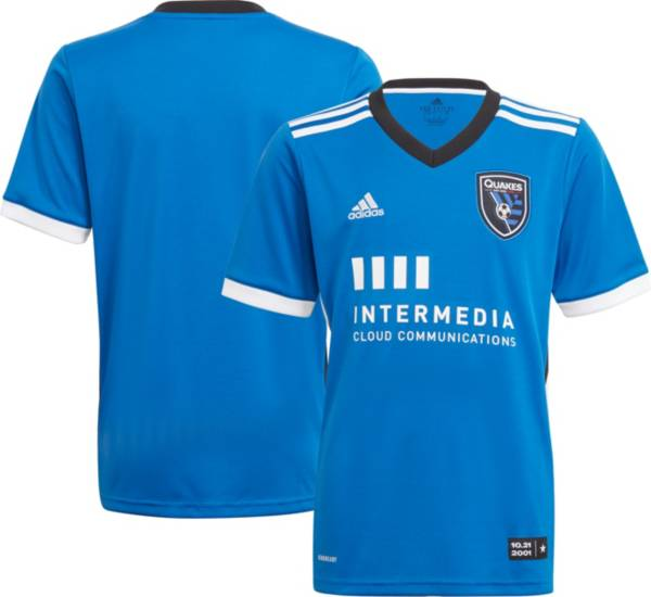 adidas Youth San Jose Earthquakes '21-'22 Primary Replica Jersey product image