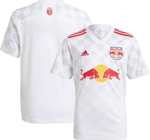 adidas Youth New York Red Bulls '21-'22 Primary Replica Jersey product image
