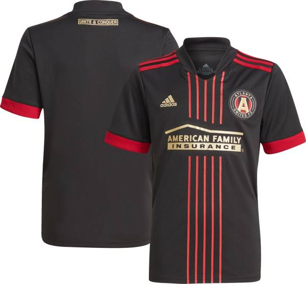 adidas Youth Atlanta United '21-'22 Primary Replica Jersey product image