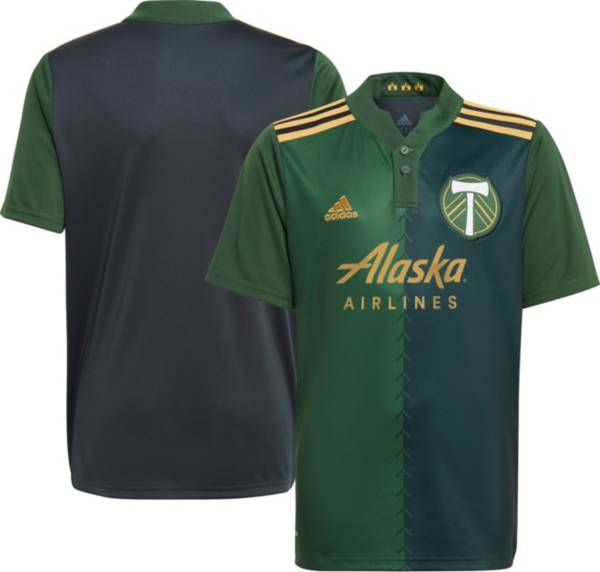 adidas Youth Portland Timbers '21 Primary Replica Jersey product image
