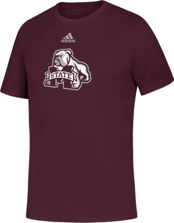 adidas Youth Mississippi State Bulldogs Maroon Amplifier T-Shirt product image