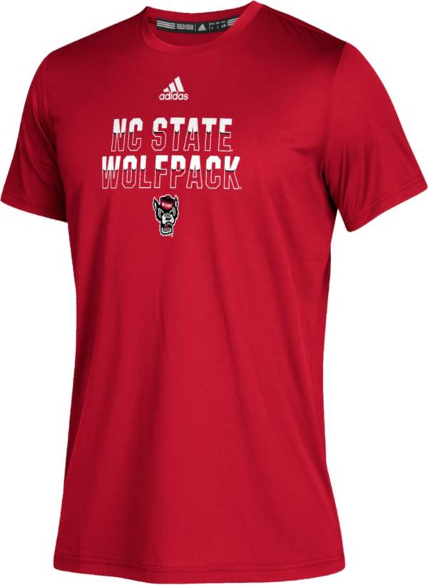 adidas Youth NC State Wolfpack Red Climatech Performance T-Shirt product image