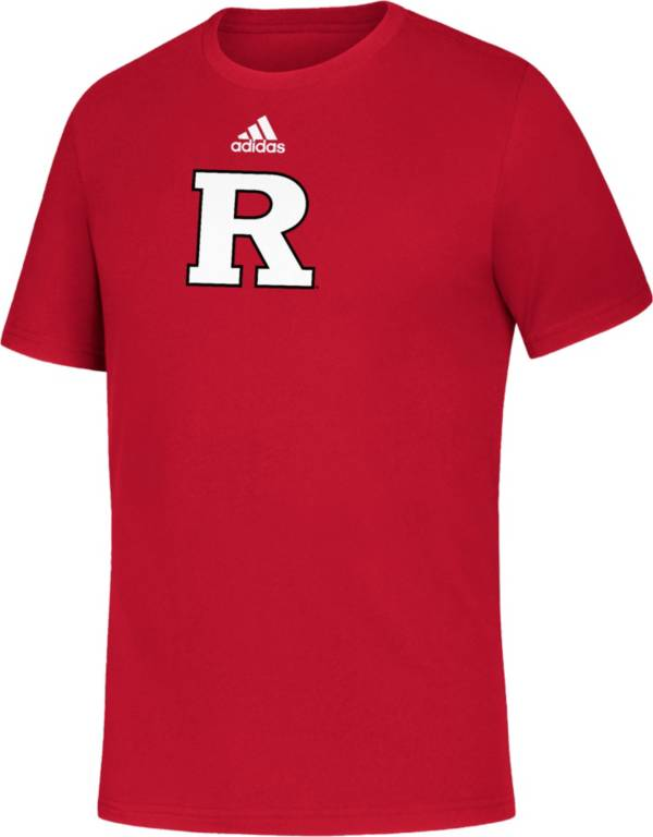 adidas Youth Rutgers Scarlet Knights Scarlet Amplifier T-Shirt product image