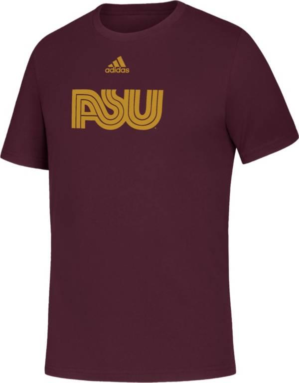 adidas Youth Arizona State Sun Devils Maroon Amplifier T-Shirt product image
