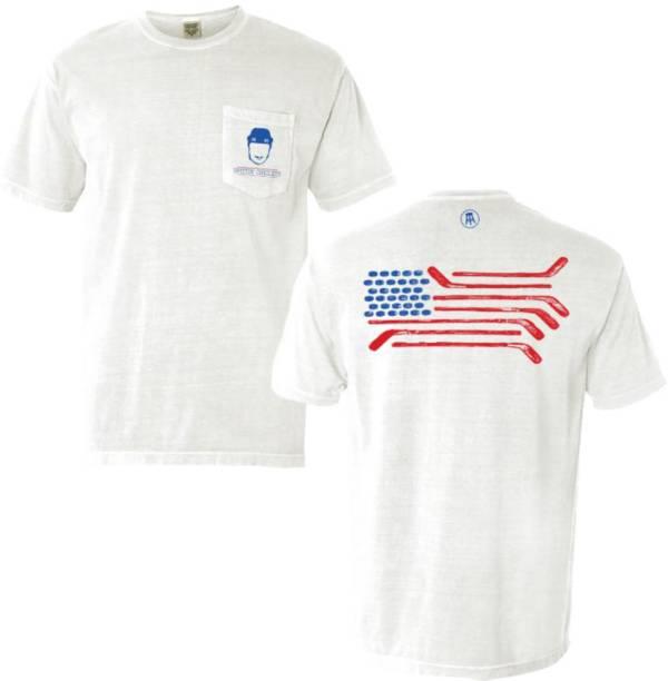 Spittin' Chiclets USA Flag Pocket T-Shirt product image