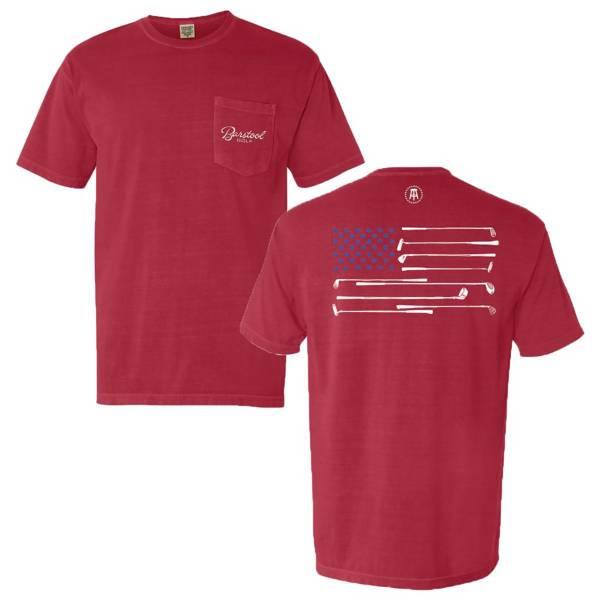 Barstool Sports Men's Flag Pocket Golf T-Shirt product image