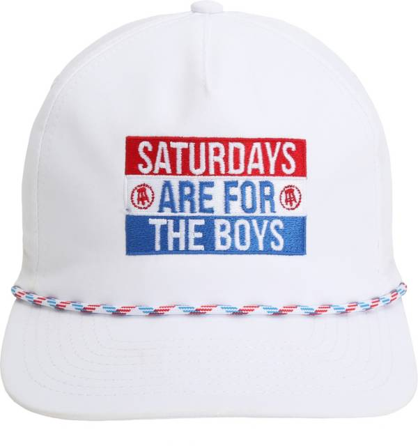 Barstool Sports Men's Saturdays Are For The Boys Rope Snapback Golf Hat product image
