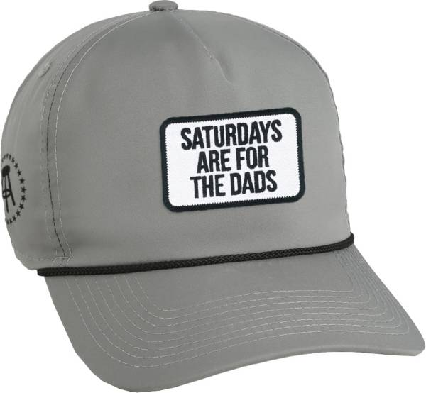 Barstool Sports Men's Saturdays Are For The Dads Retro Patch Snapback Golf Hat product image