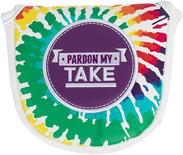 Barstool Sports Pardon My Take Tie-Dye Mallet Putter Cover product image