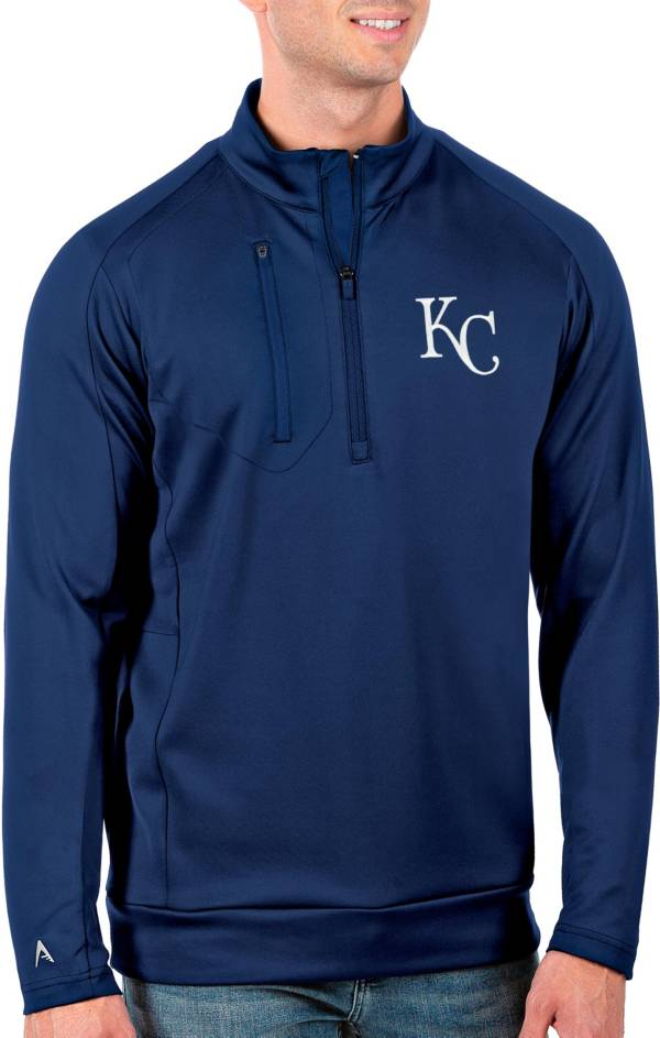 Antigua Men's Tall Kansas City Royals Generation Royal Half-Zip Pullover product image