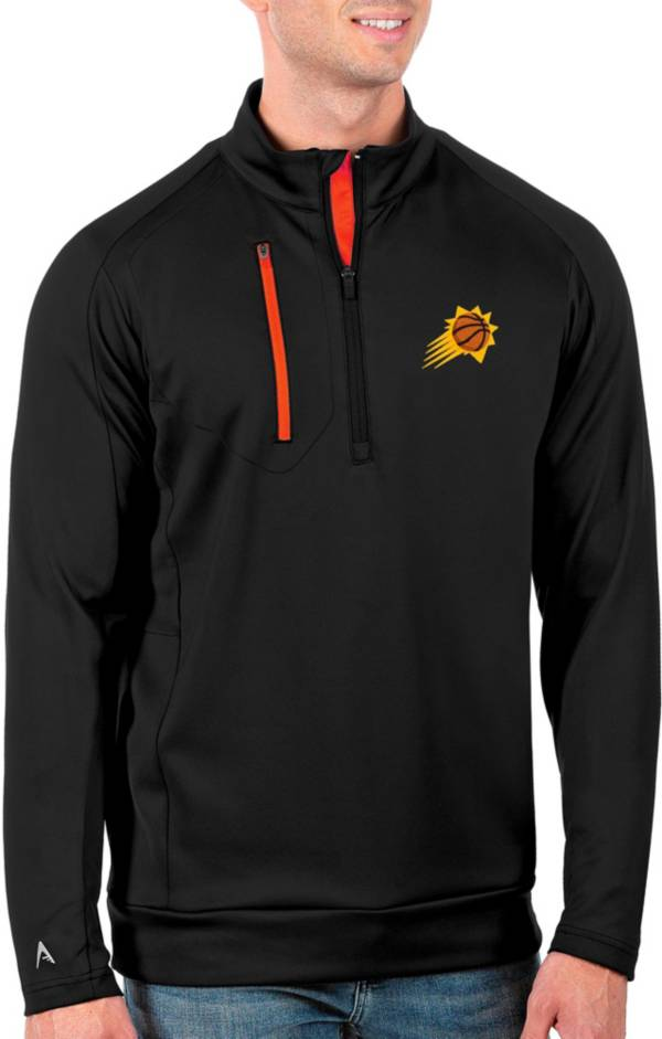 Antigua Men's Phoenix Suns Black Generation ¼ Zip product image